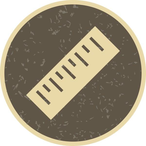 Ruler Vector Icon - Free Art Stock