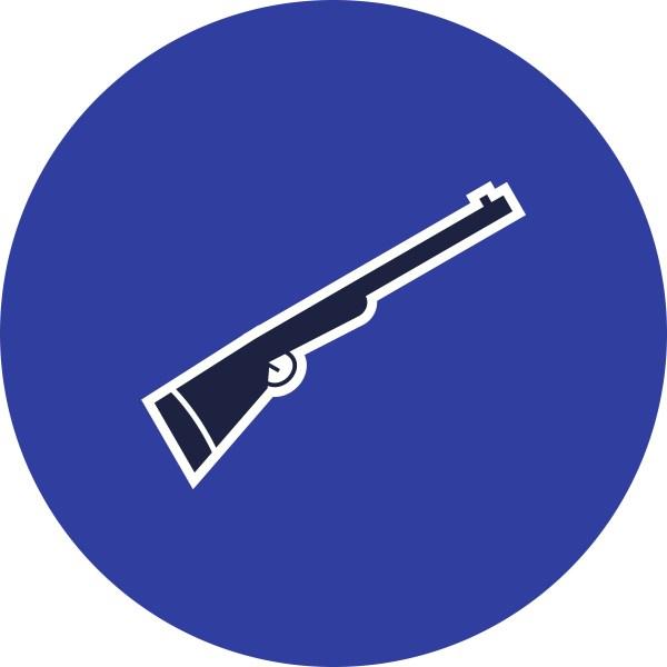 Shotgun Vector Icon - Free Art Stock
