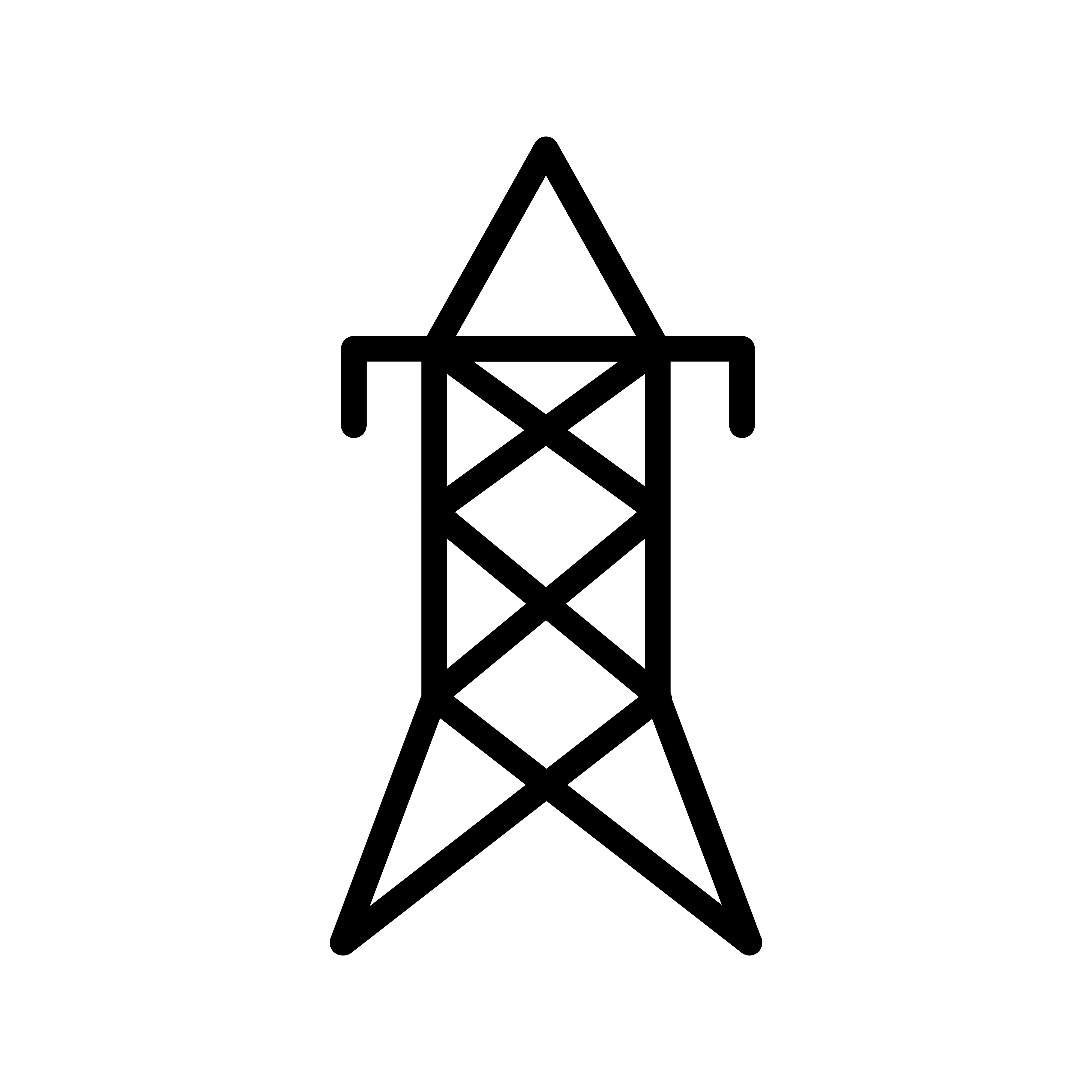 Electric Tower Vector Icon