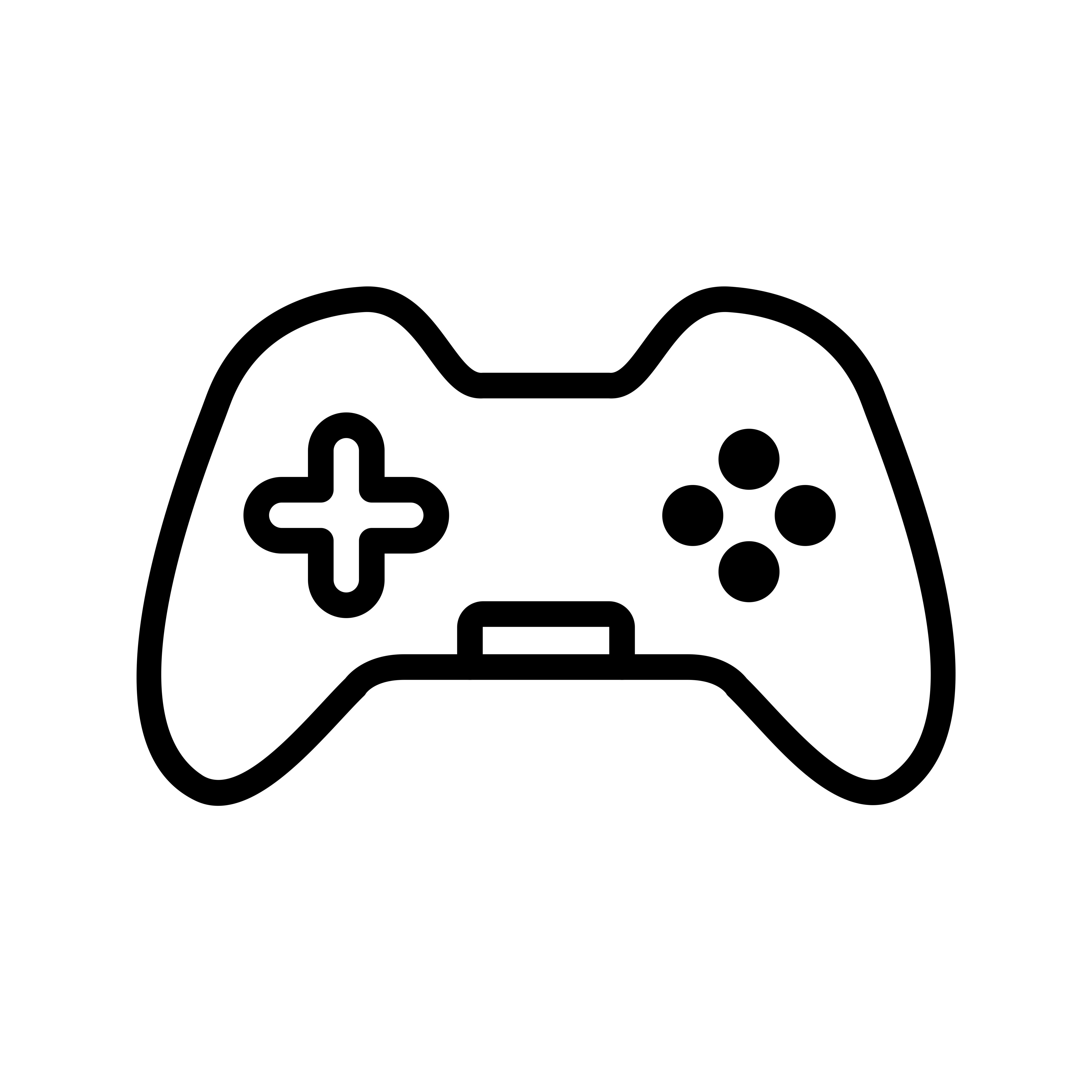 Control Pad Vector Icon
