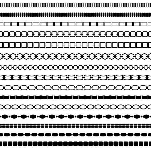 mod black chain border