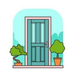 Door vector Download Free Vectors Clipart Graphics & Vector Art