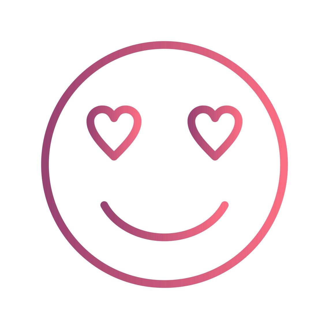 Download Love Emoji Vector Icon - Download Free Vectors, Clipart ...
