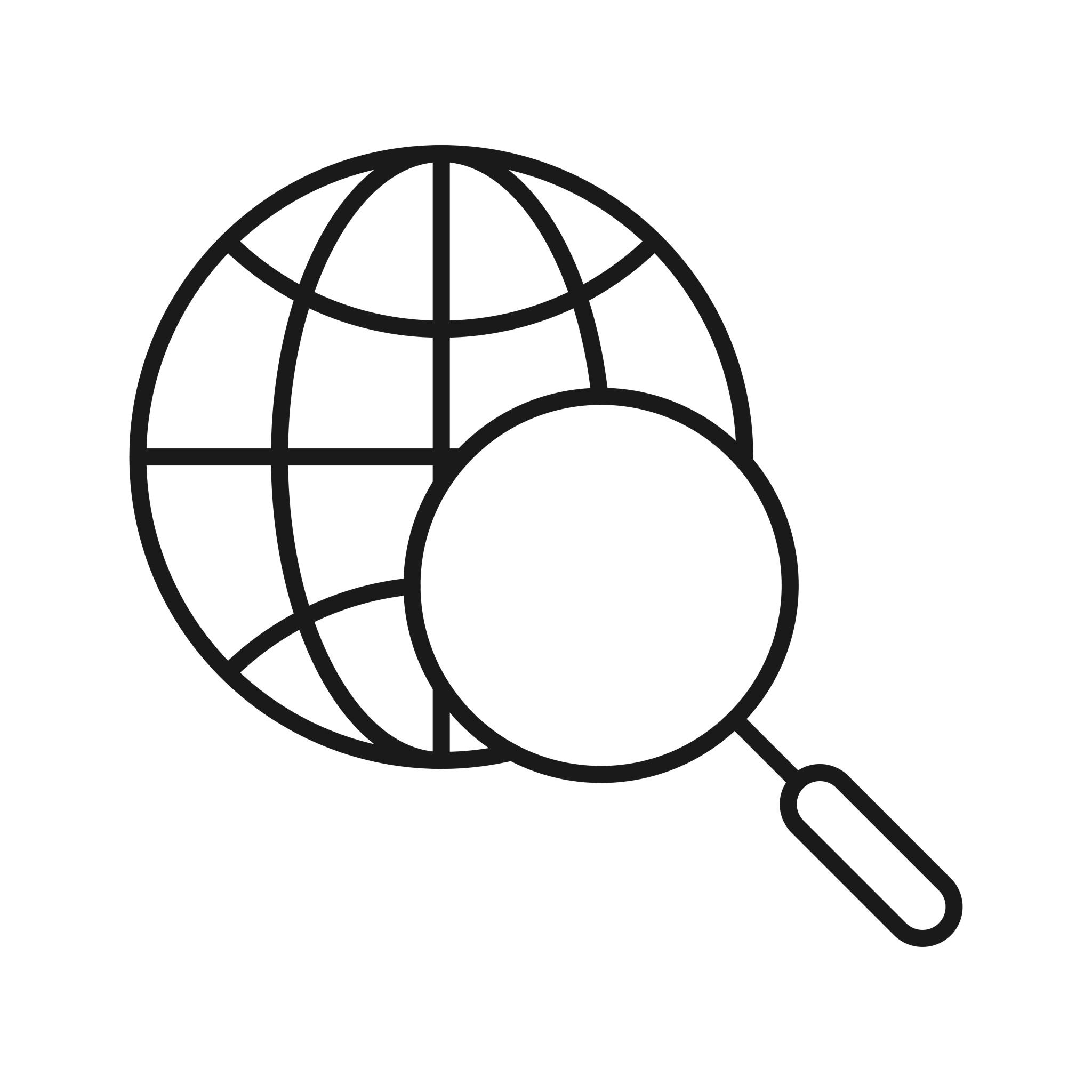 Internet Search Seo Line Icon