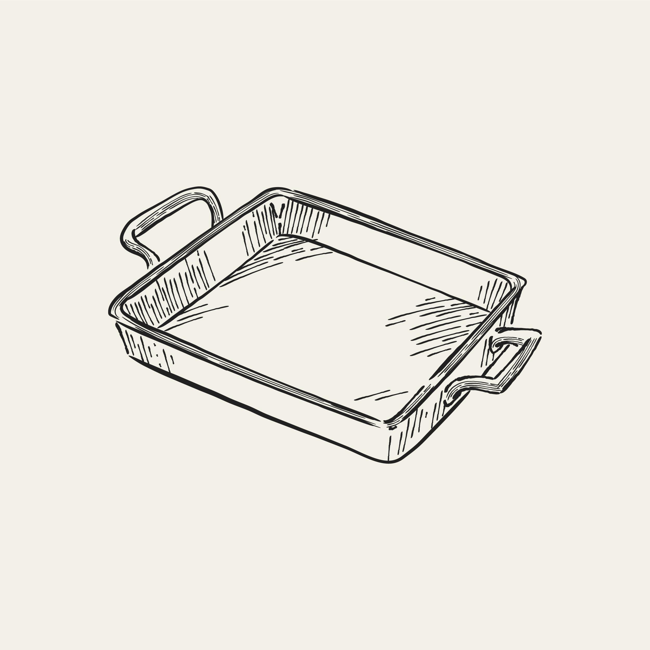 Baking Tray Free Vector Art