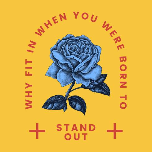 stand out rose logo
