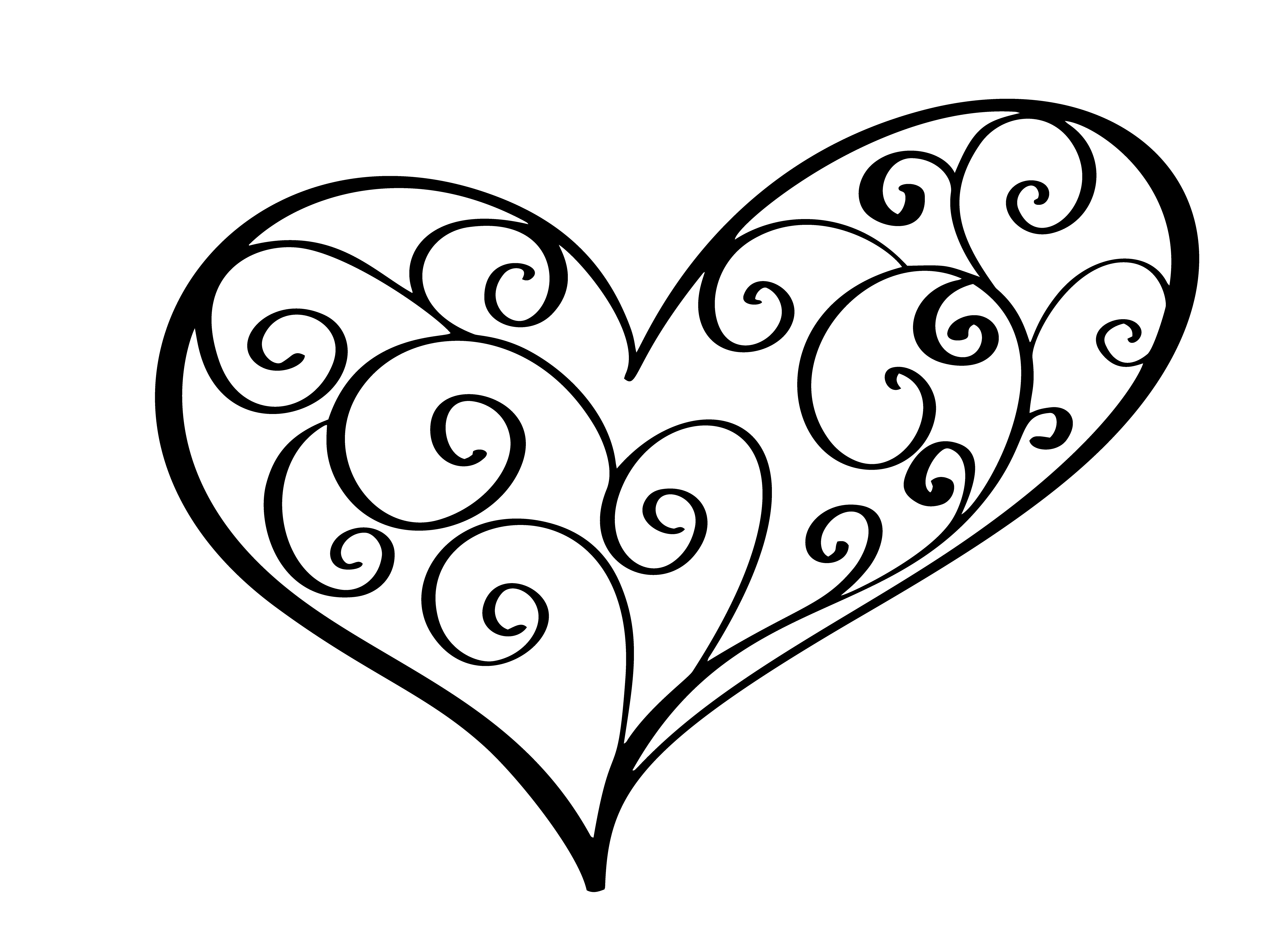Vintage Heart For Valentines And Wedding Day Vector