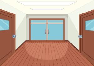 empty interior vector clipart vectors