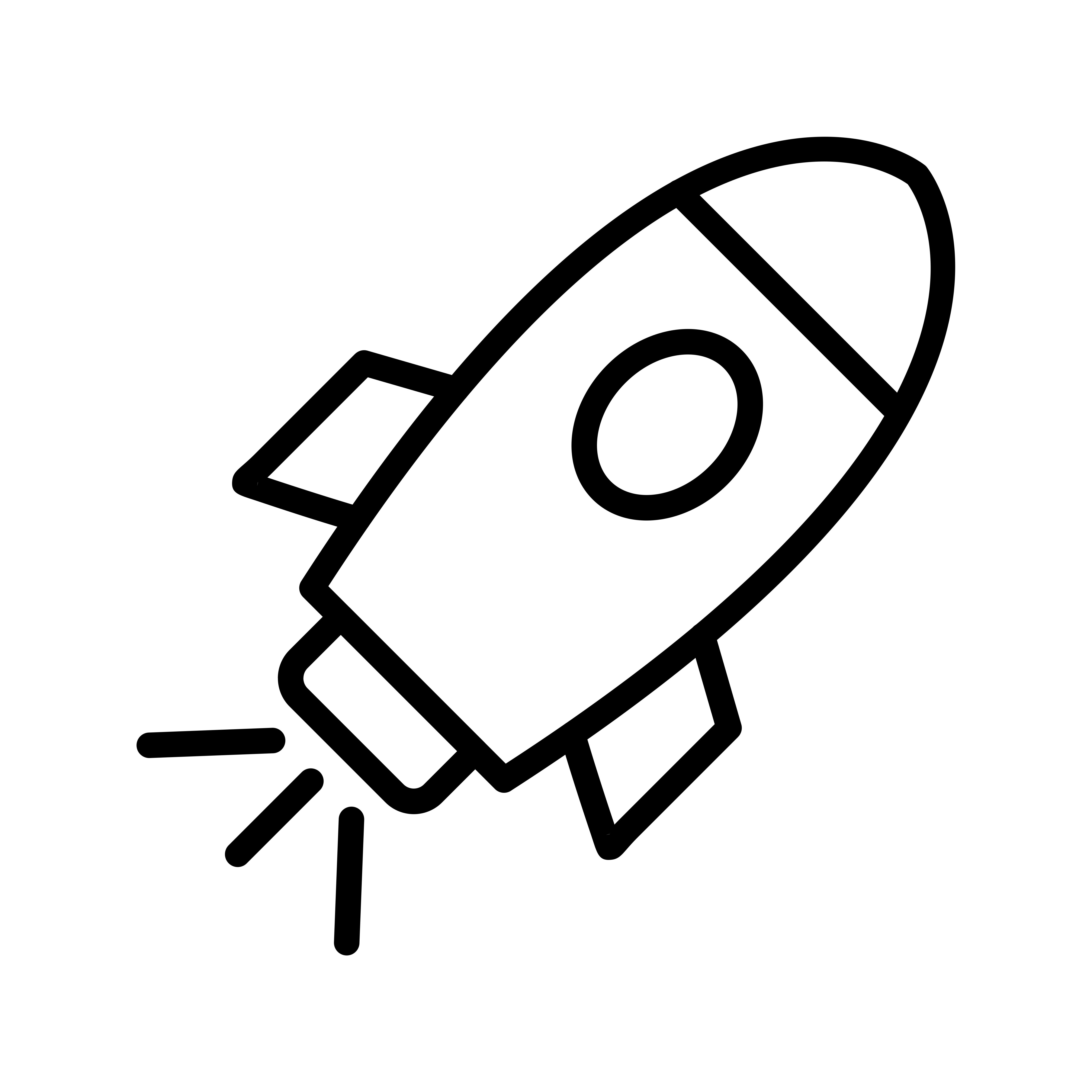 Space Ship Vector Icon