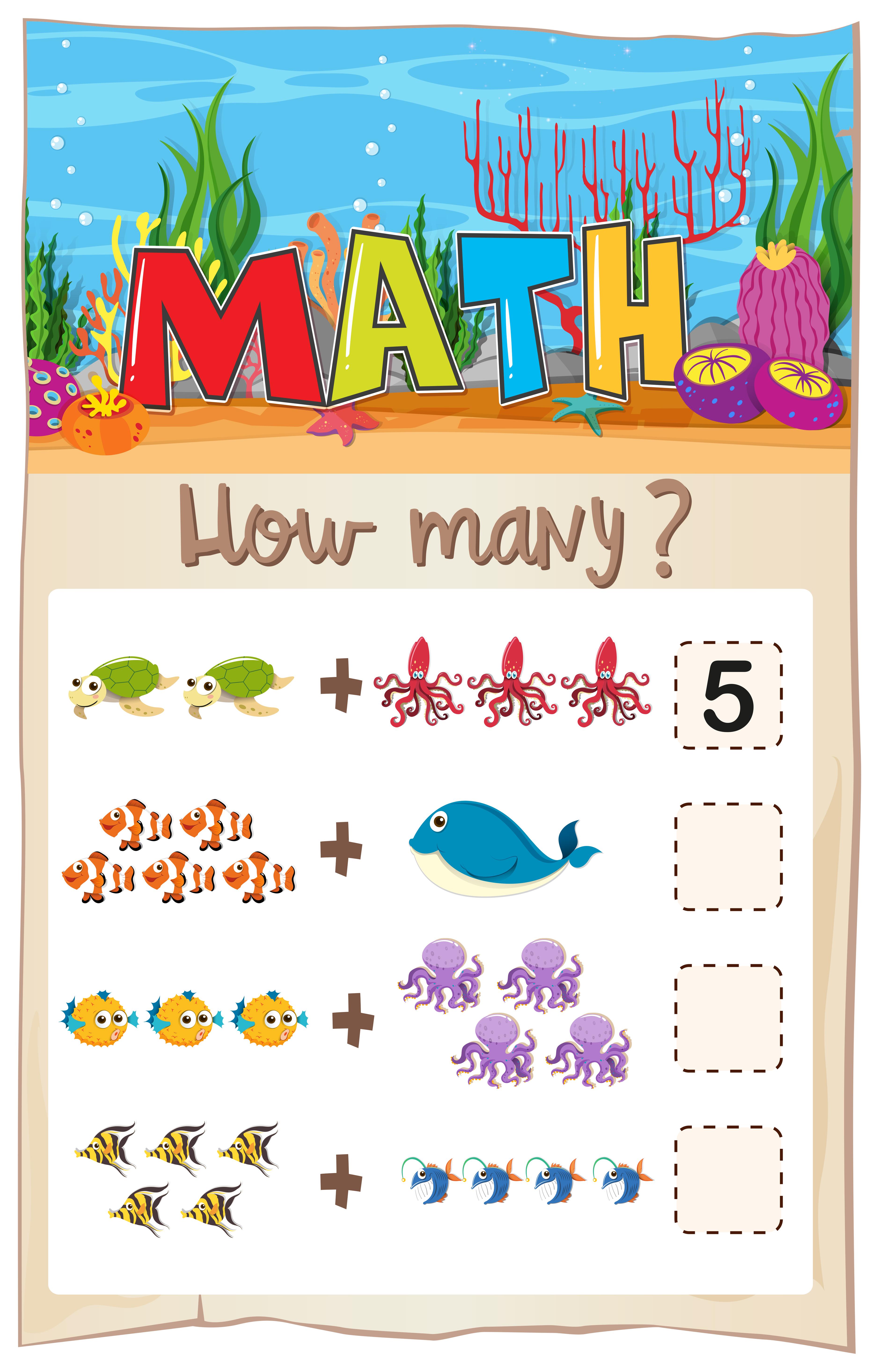 Write Number Matching Worksheet