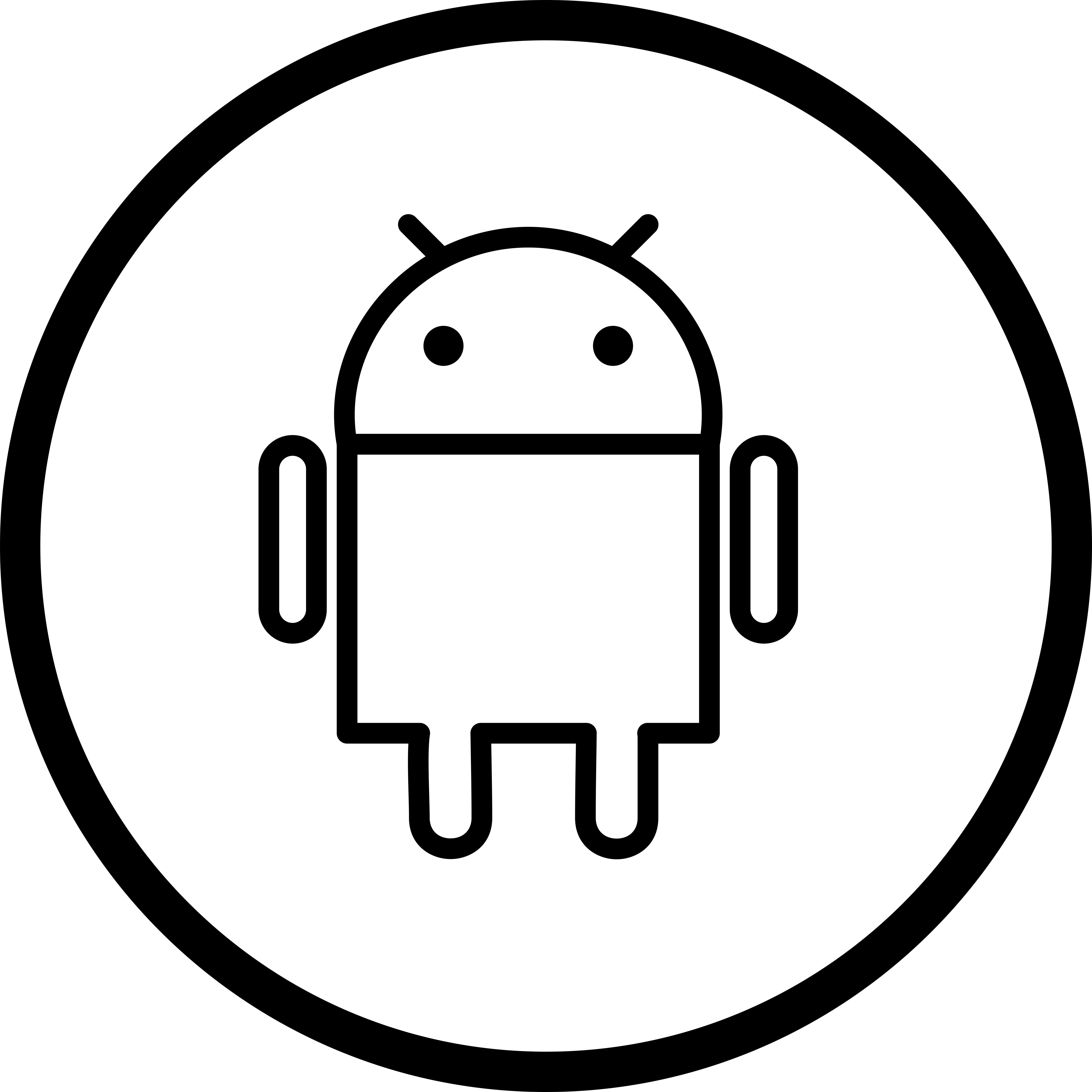 Android Icons Free Vector Art