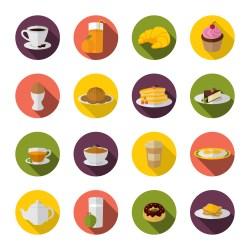Breakfast Icon Vector