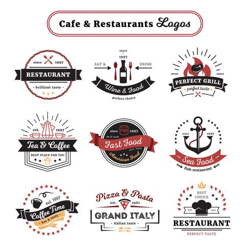 cafe and restaurant logos
