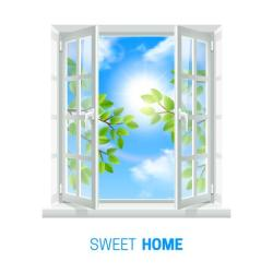 window open sunny icon realistic vector air clipart quality indoor clip bright adapta illustrations opening comments freepik non graphics copy