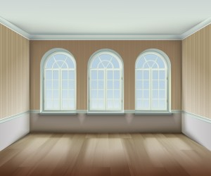 windows arched illustration vector window realistic clipart vecteezy indoor wooden interior background icons graphics