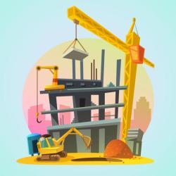 House construction cartoon Download Free Vectors Clipart Graphics & Vector Art