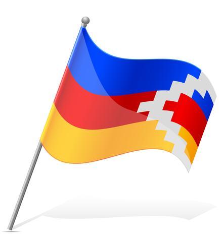 flag of nagorno karabakh