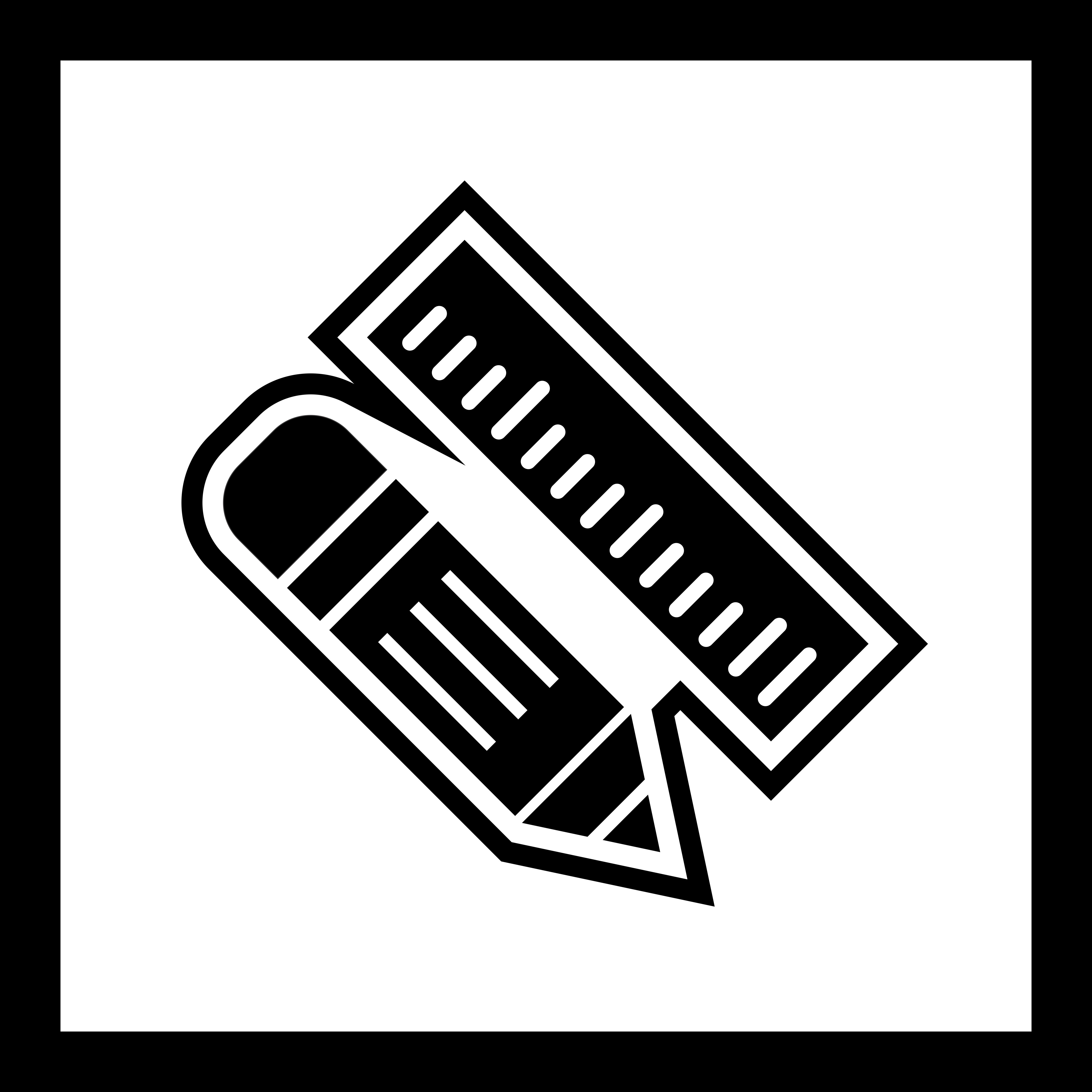Pencil Amp Ruler Icon Design
