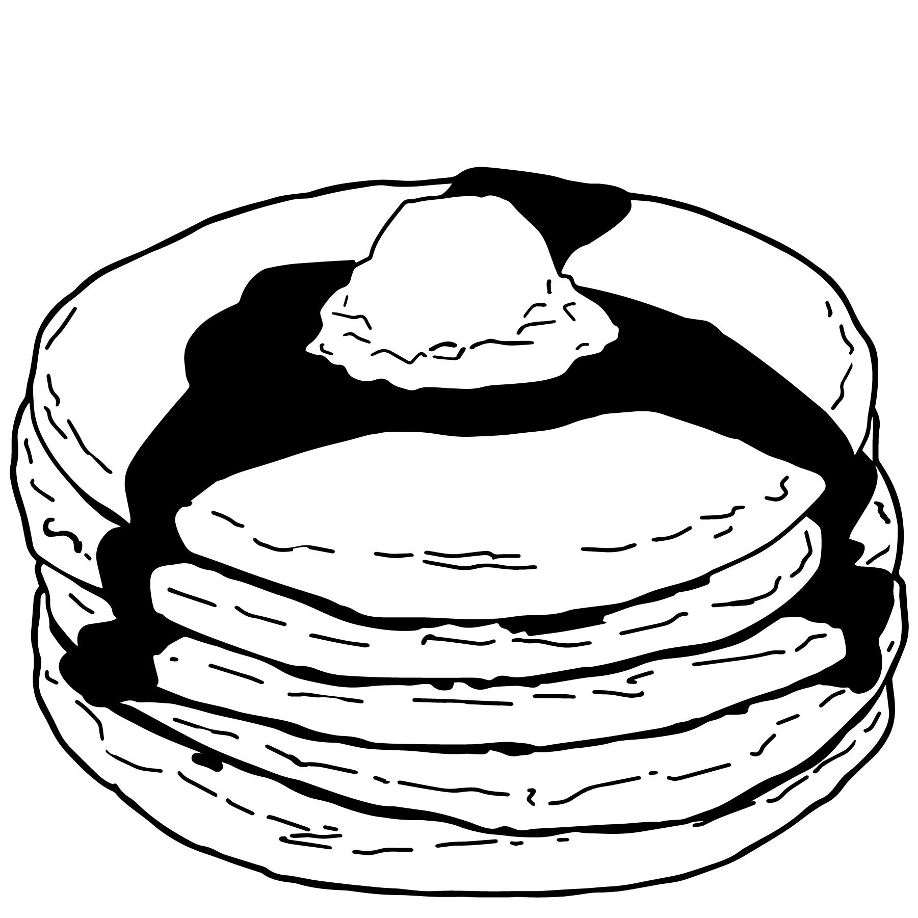 Pancake Vector Eps