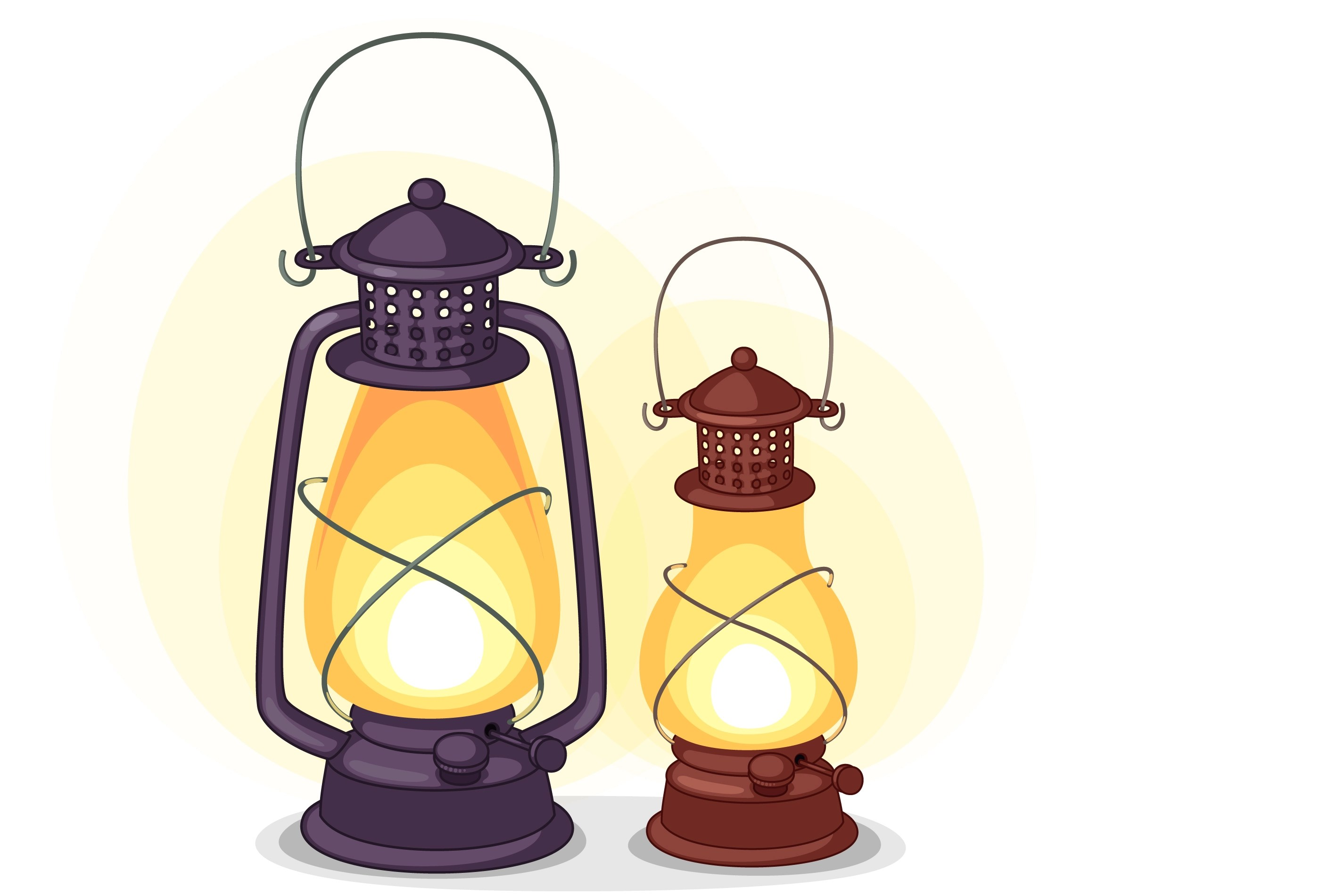 Old Lantern Vector Download Free Vectors Clipart Graphics Vector Art