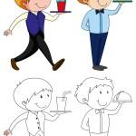 Restaurant Doodle Free Vector Art 610 Free Downloads