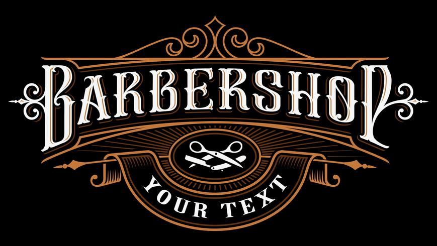 barbershop logo design download