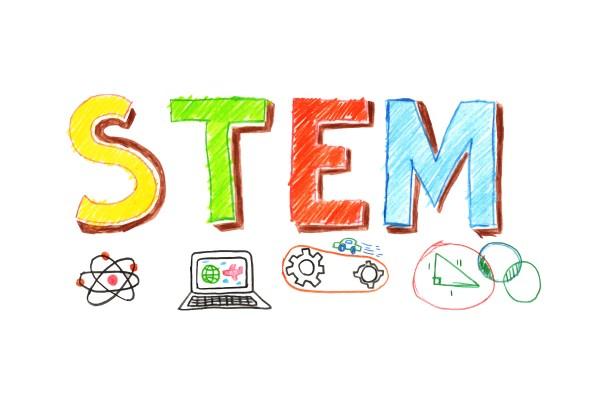 Illustration Of Stem Word Banner - Free Vector