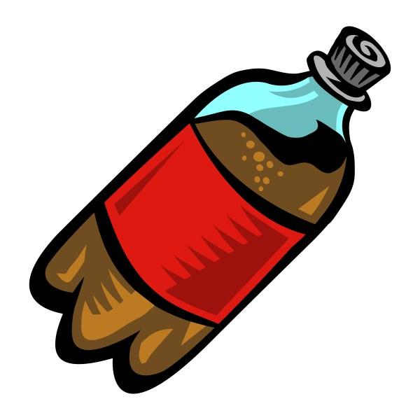 Soda Pop Bottle - Free Vectors Clipart Graphics