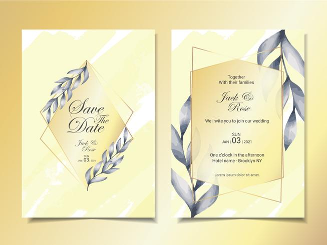 https www vecteezy com vector art 556655 luxury wedding invitation cards template of minimalist watercolor leaves with golden frame and beautiful abstract background