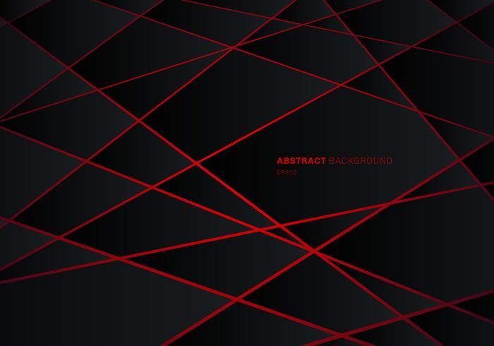abstract black geometric polygon