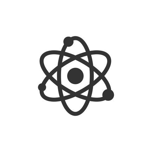 Chemistry Atom Molecule Icon Logo Template Illustration