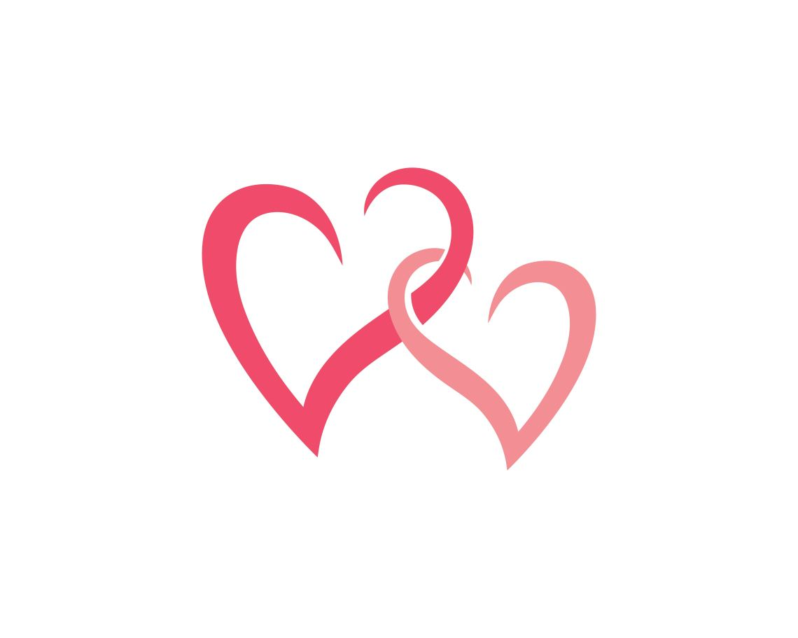 Download Love heart logo and template - Download Free Vectors ...