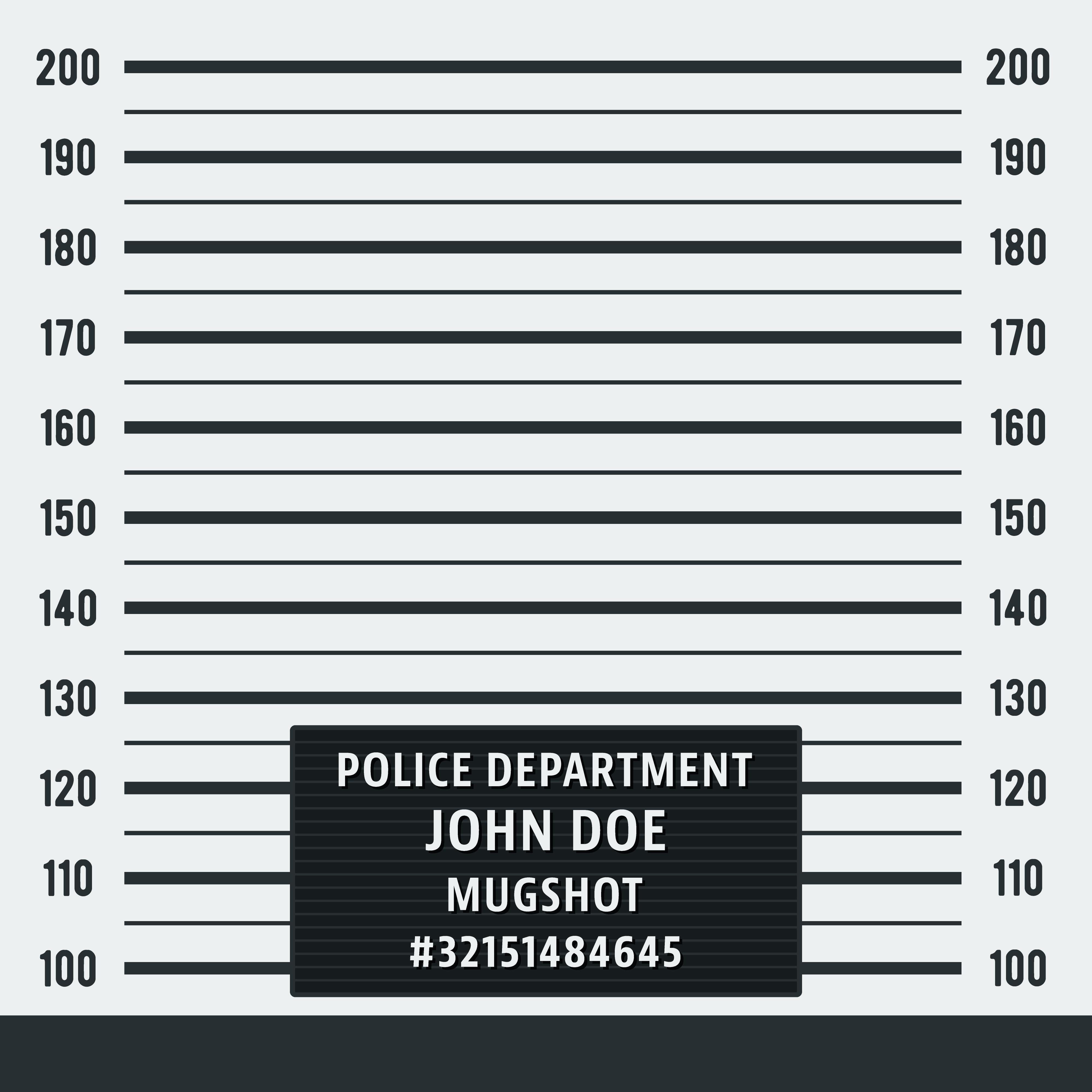 Police Mugshot Background