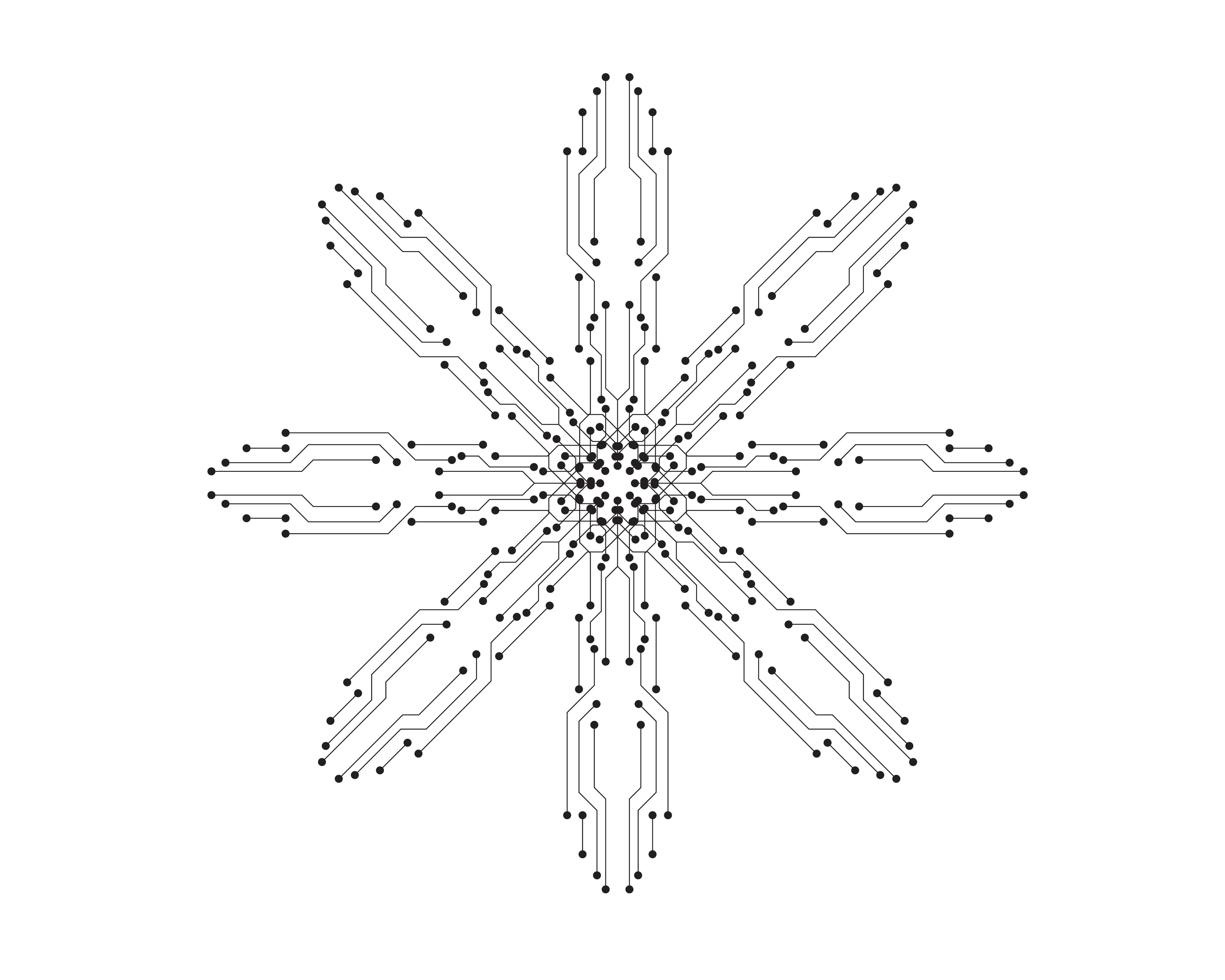 circuit illustration vector template line 619714