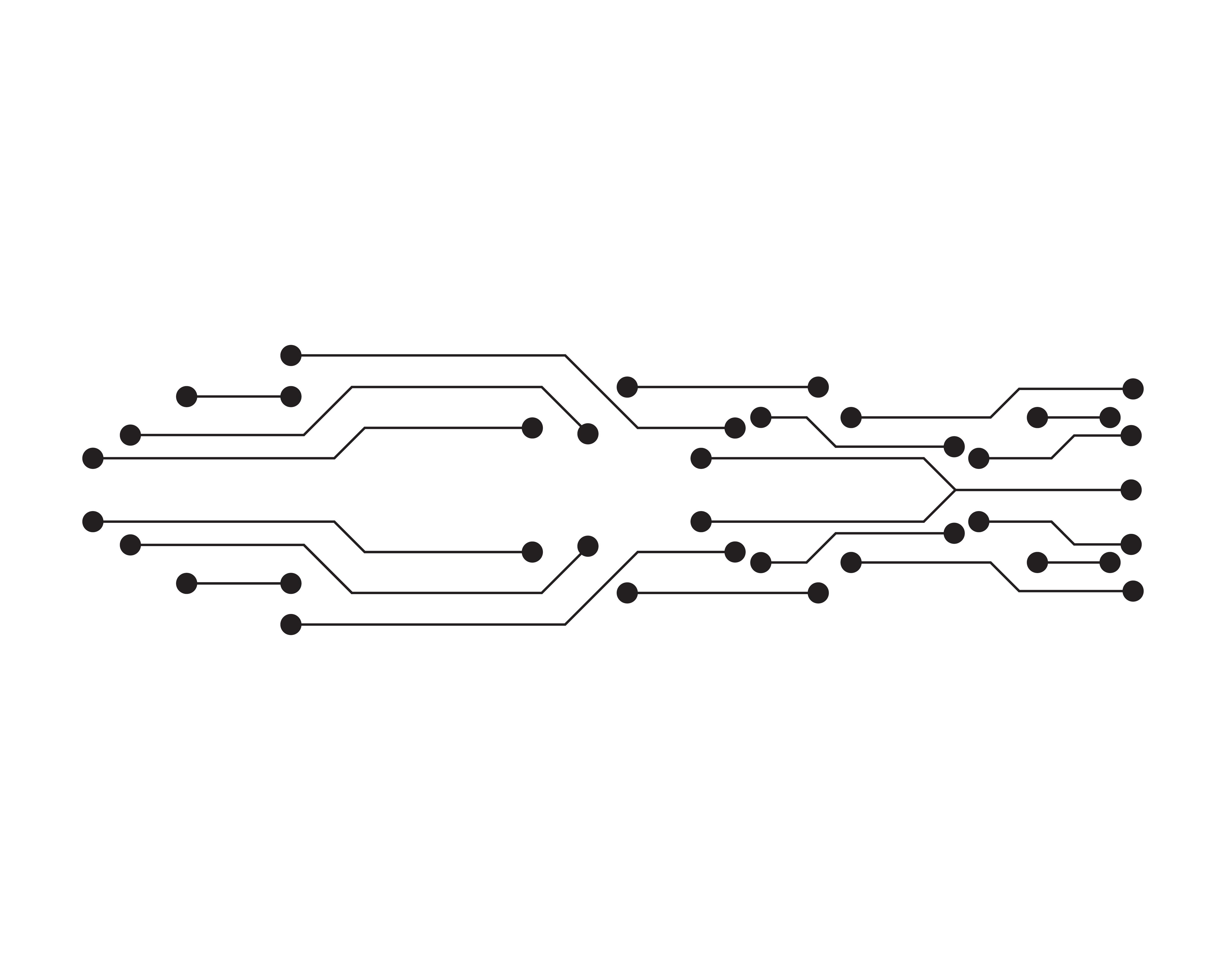 circuit illustration vector template line 620876
