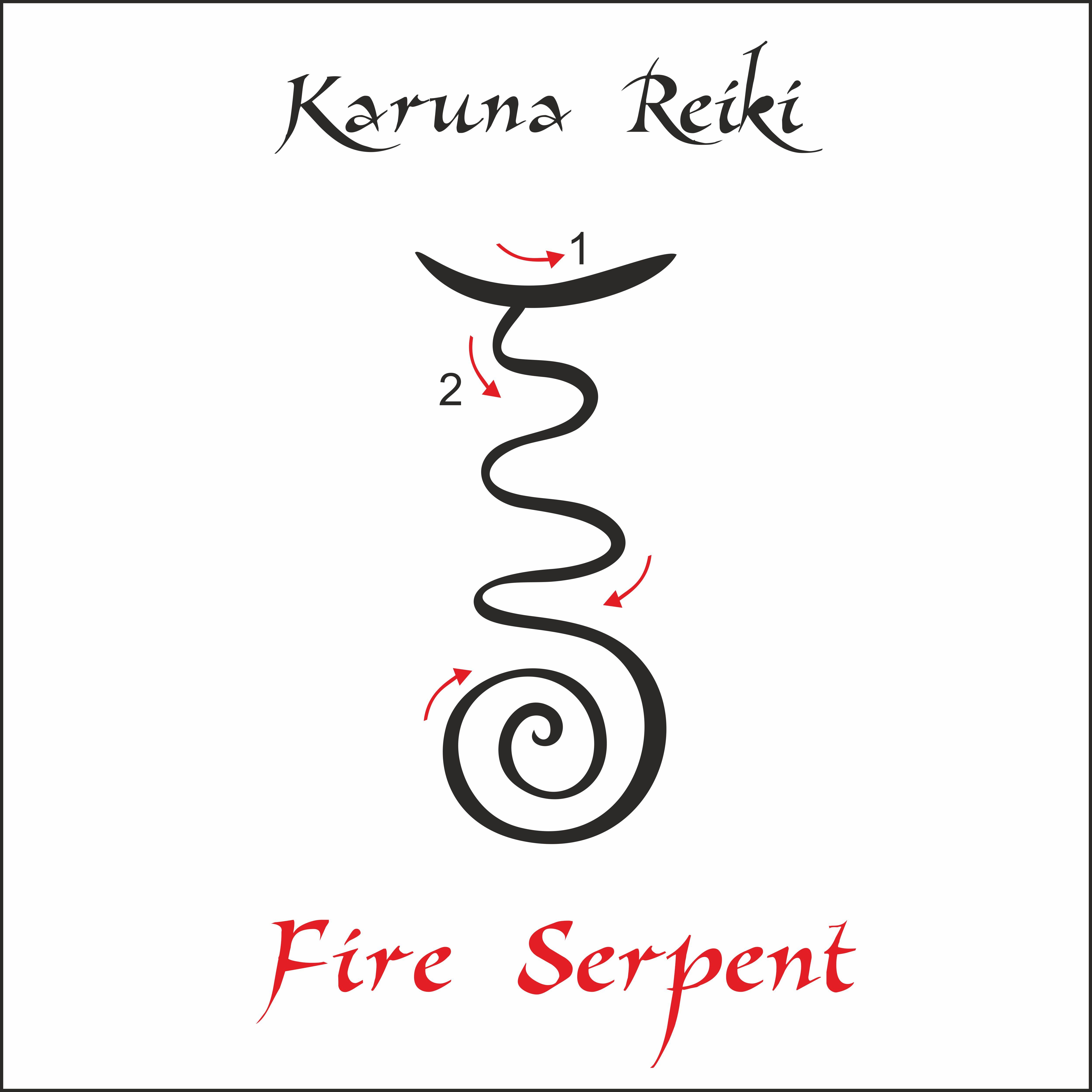 Karuna Reiki. Energy healing. Alternative medicine. Fire