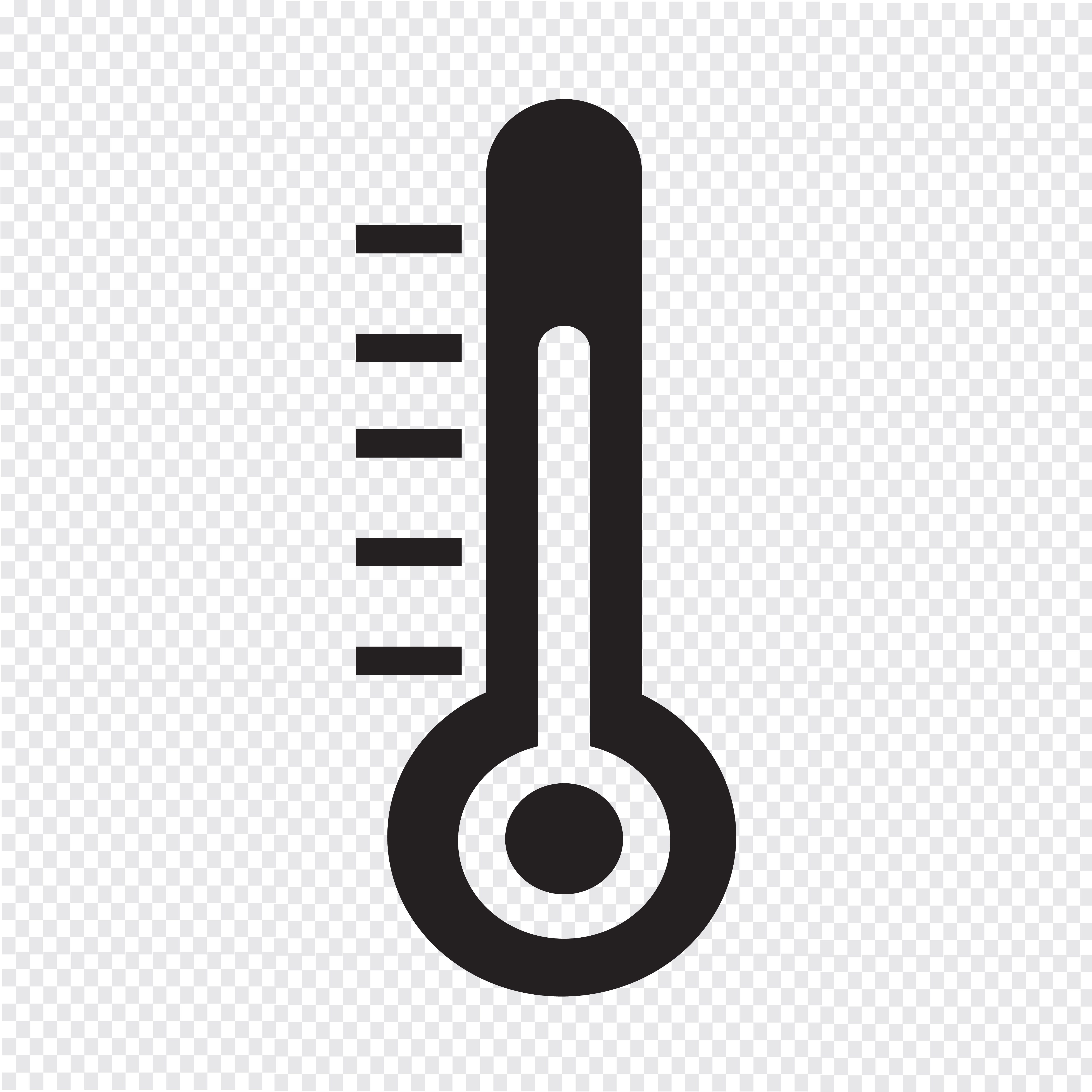 Thermometer Icon Symbol Sign