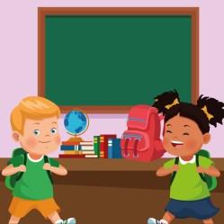 back to school kids cartoons Download Free Vectors Clipart Graphics & Vector Art