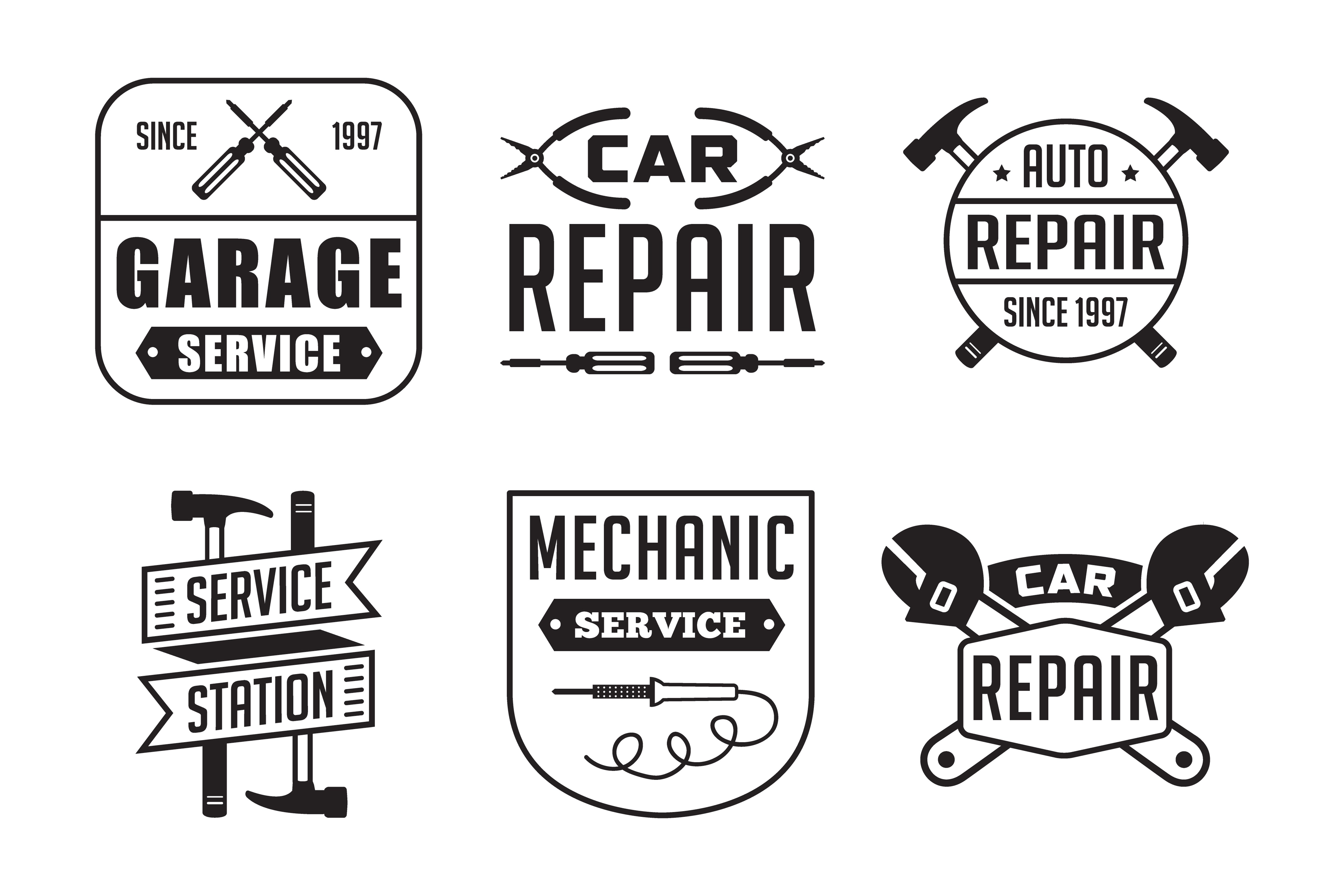 Automotive Service Record Template