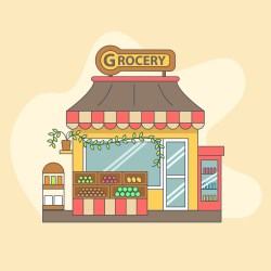 grocery outside vector displayed clipart graphics vectors system keywords related