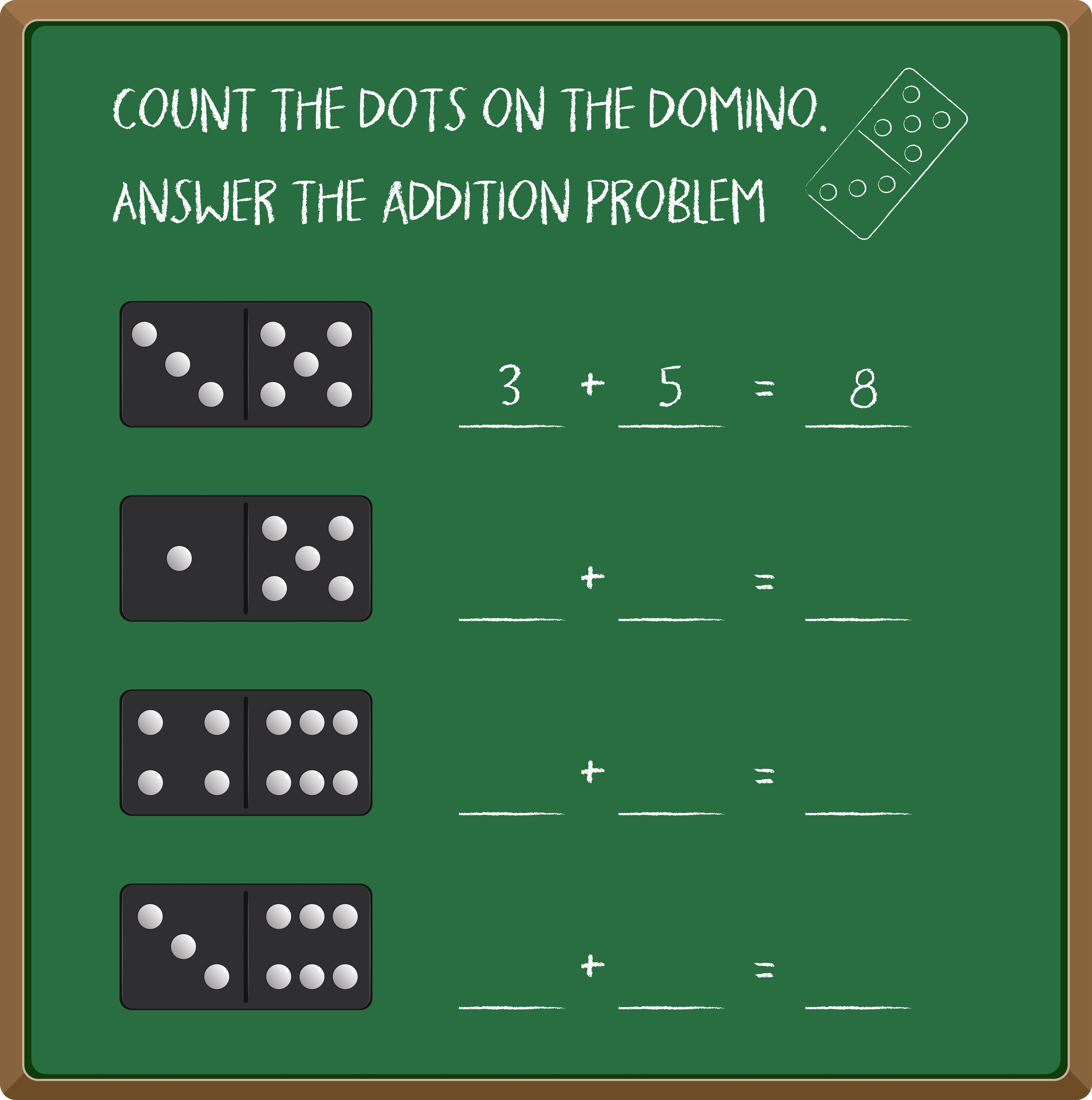 Count Numbers With Dominos