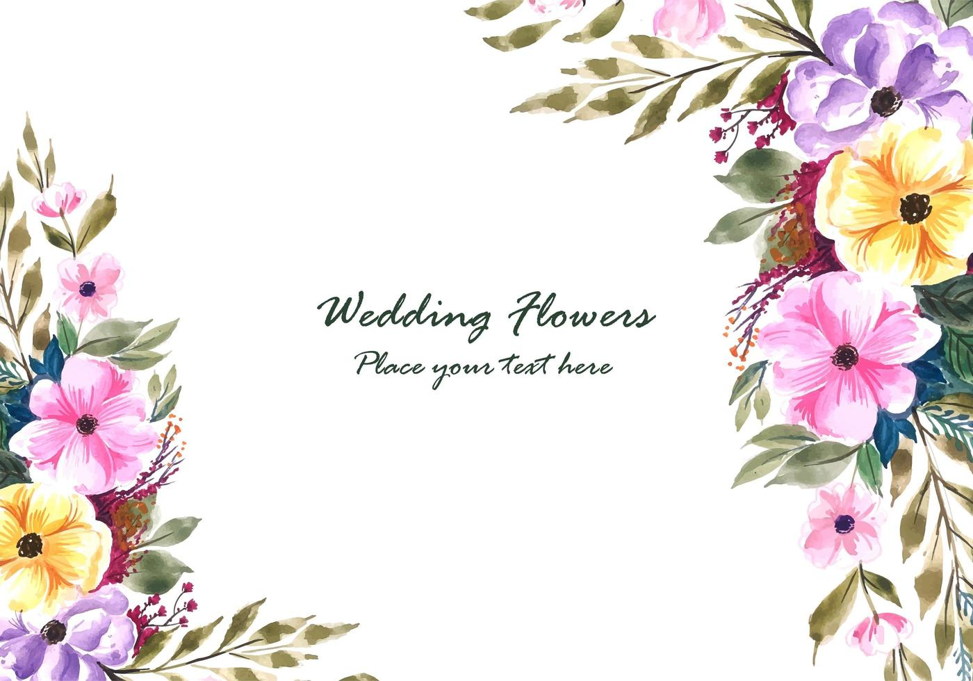 https www vecteezy com vector art 693798 wedding decorative flowers frame with invitation card background