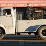 Vintage Tow Truck Stock Photo