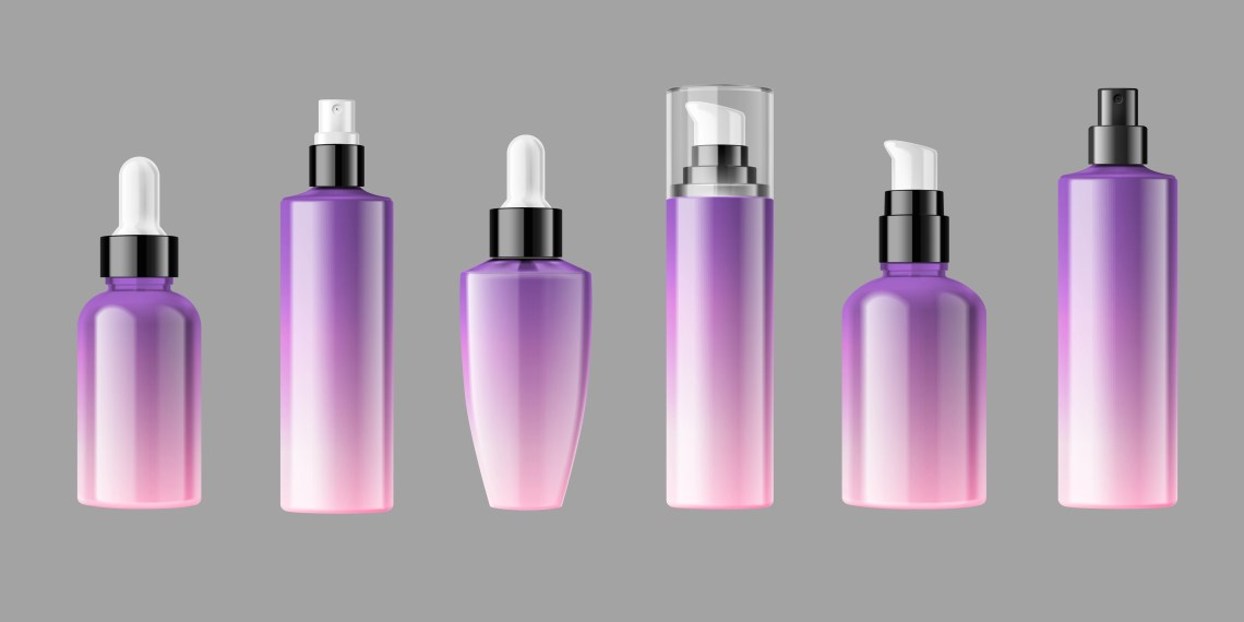 Download Blank cosmetic bottles packaging mockup - Download Free ...