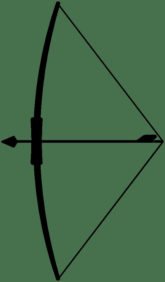 Transparent Bow And Arrow : transparent, arrow, Arrow, Transparent, Background
