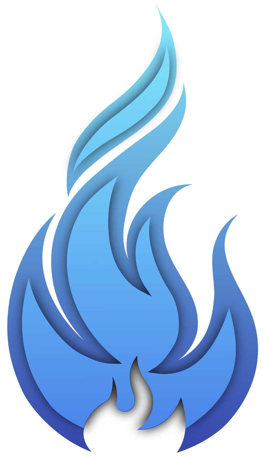 Blue Flame Png : flame, Transparent, Background