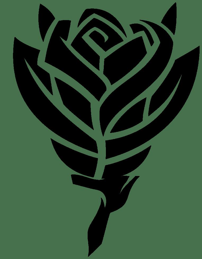 Rose Tattoo Png : tattoo, Tattoo, Transparent, Background