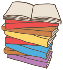 Free Books PNG with Transparent Background