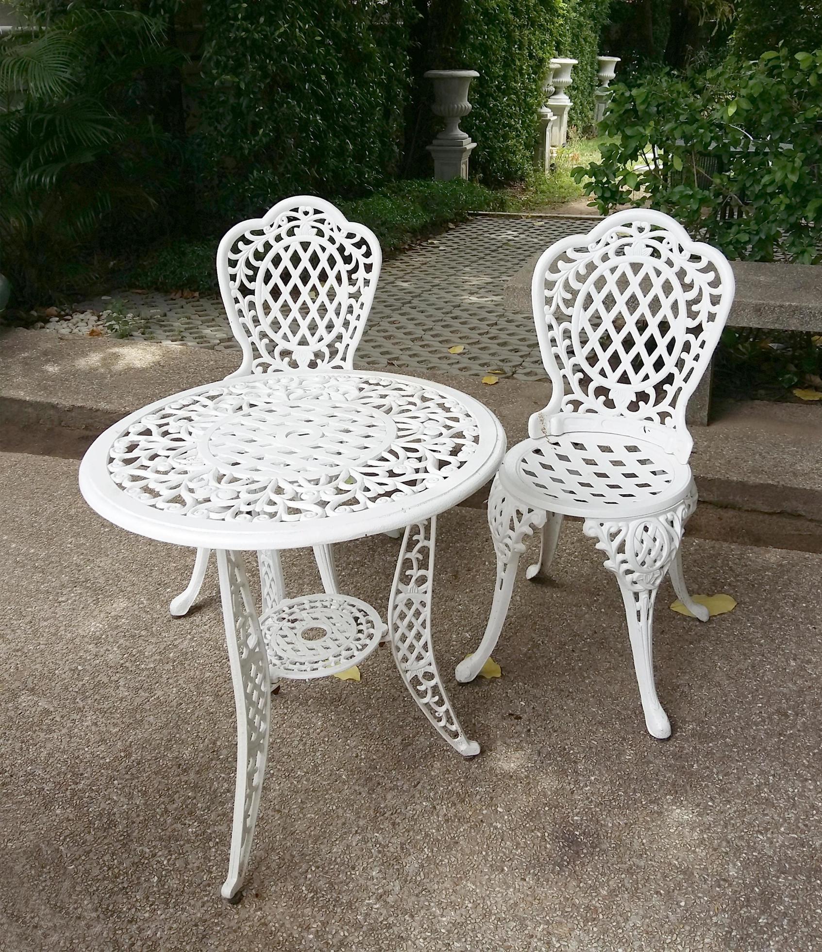 white metal patio furniture 1995844