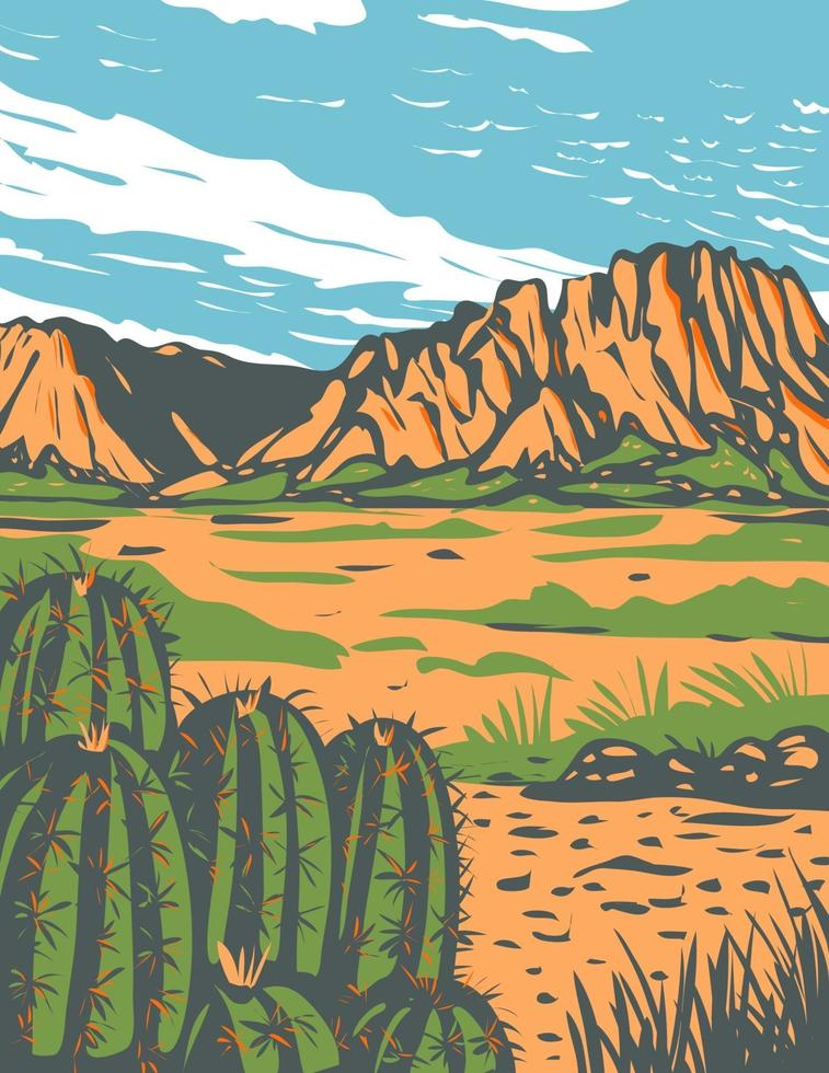 https www vecteezy com vector art 2069316 chihuahuan desert covering parts of big bend national park in mexico and southwestern united states wpa poster art